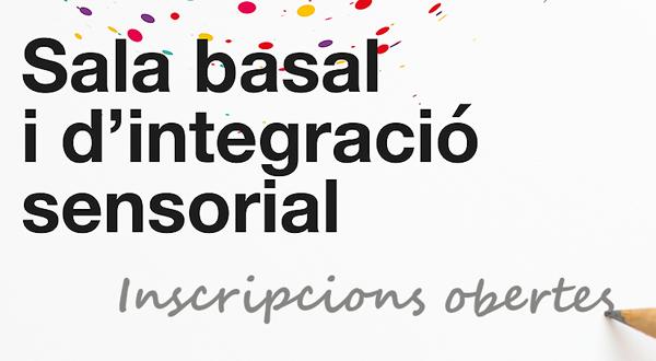 Inscripció sala basal i d'integració sensorial